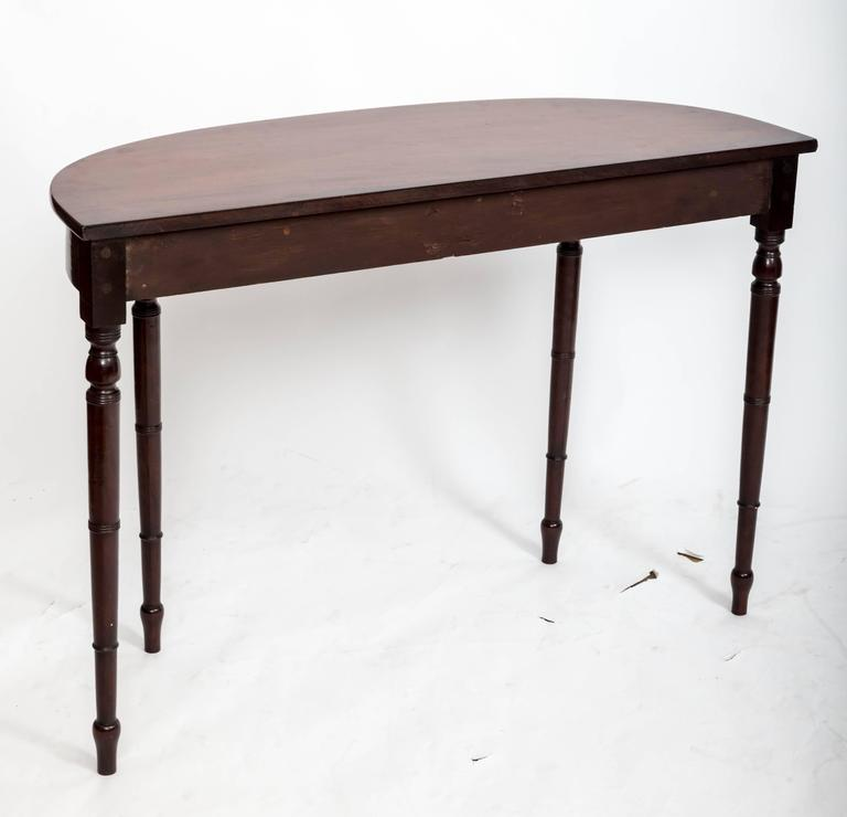 Early 19th Century Regency Hall Console Table, England, circa 1820 For Sale 1