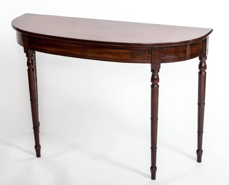 Early 19th Century Regency Hall Console Table, England, circa 1820 7