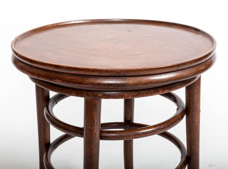 19th Century Bentwood Side Table, England, circa 1890 In Good Condition For Sale In East Hampton, NY