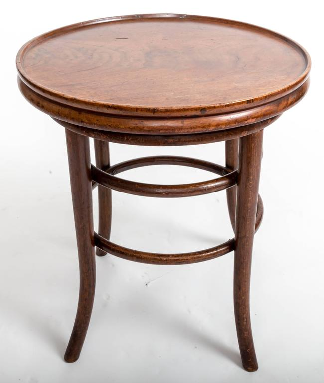 19th Century Bentwood Side Table, England, circa 1890 5