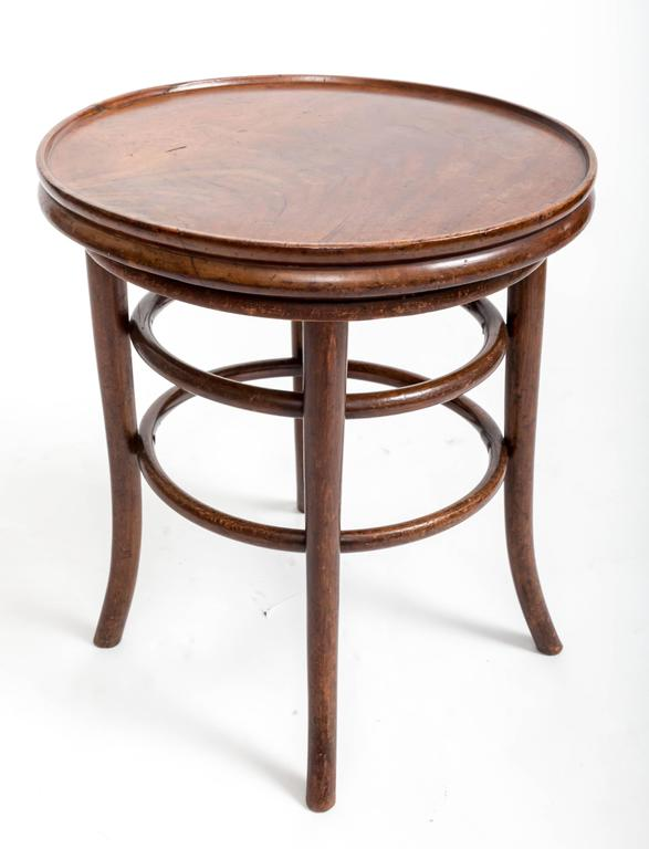 19th Century Bentwood Side Table, England, circa 1890 6