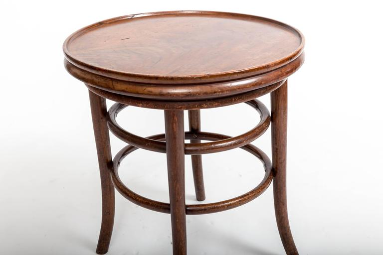 19th Century Bentwood Side Table, England, circa 1890 8