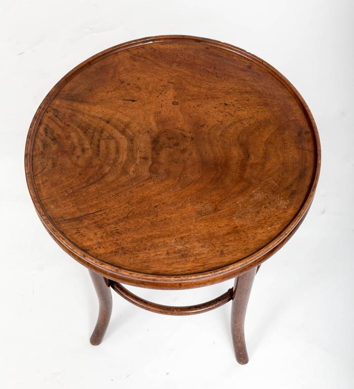 19th Century Bentwood Side Table, England, circa 1890 10