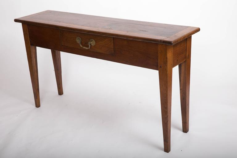 19th Century Chestnut and Oak Server, France, circa 1860 3