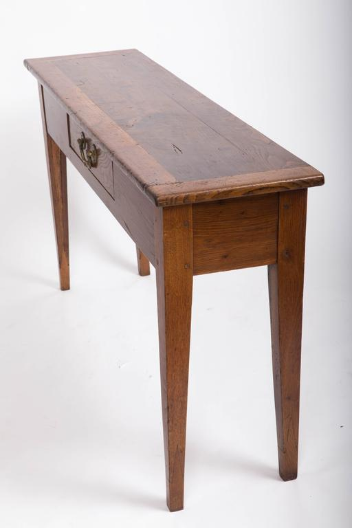 19th Century Chestnut and Oak Server, France, circa 1860 6