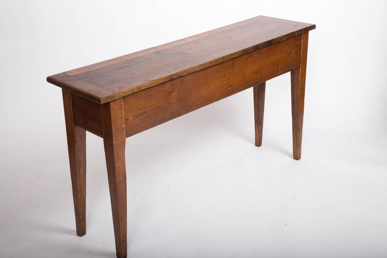 19th Century Chestnut and Oak Server, France, circa 1860 7