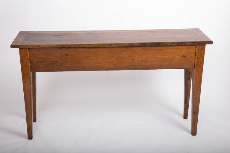 19th Century Chestnut and Oak Server, France, circa 1860 8