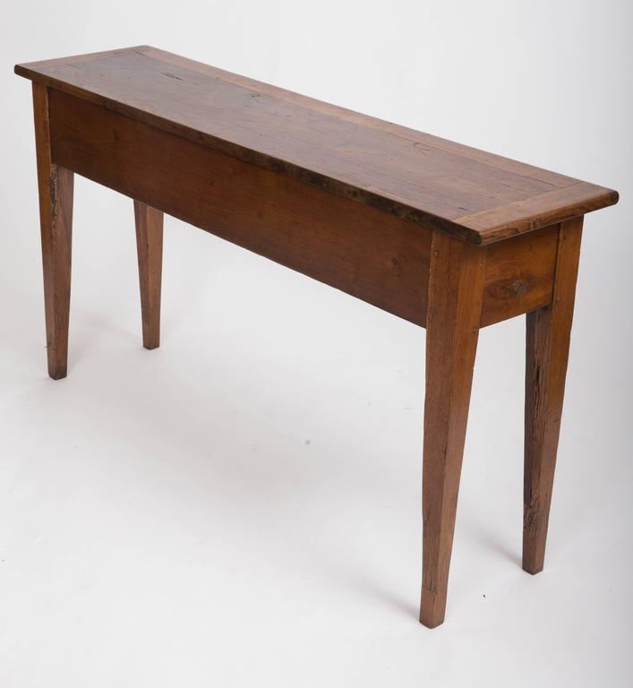 19th Century Chestnut and Oak Server, France, circa 1860 9