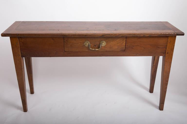 19th Century Chestnut and Oak Server, France, circa 1860 10