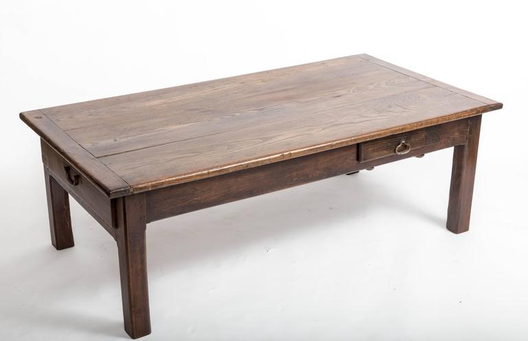 Early 19th Century Chestnut Coffee Table, France, circa 1840 For Sale 1