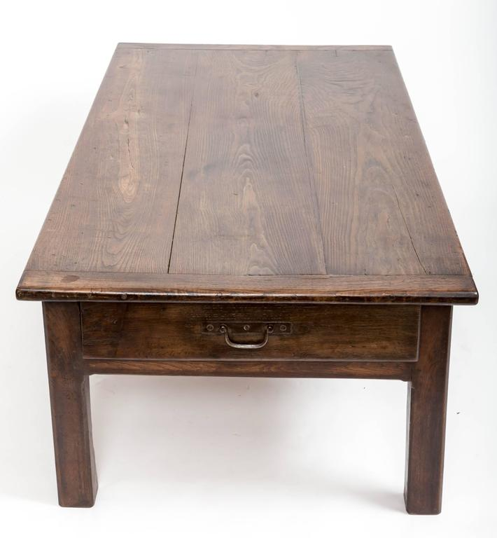 Early 19th Century Chestnut Coffee Table, France, circa 1840 For Sale 2