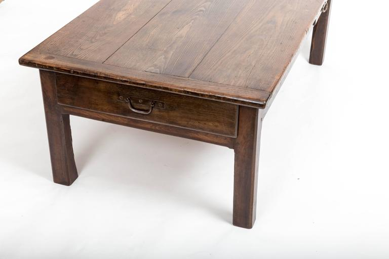 Early 19th Century Chestnut Coffee Table, France, circa 1840 For Sale 3