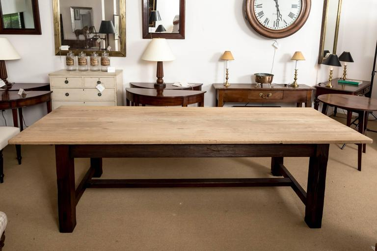 19th Century Farmhouse Dining Table, England, circa 1850 2