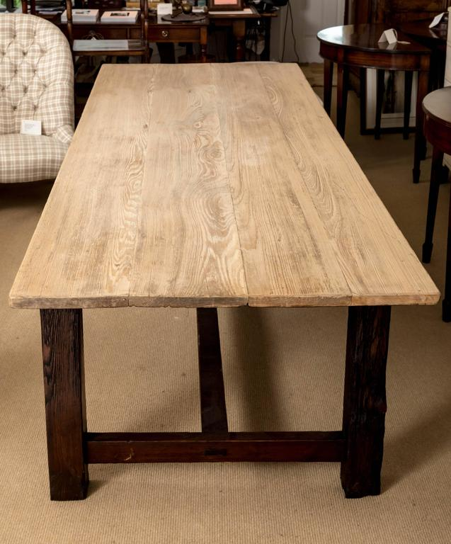 19th Century Farmhouse Dining Table, England, circa 1850 3