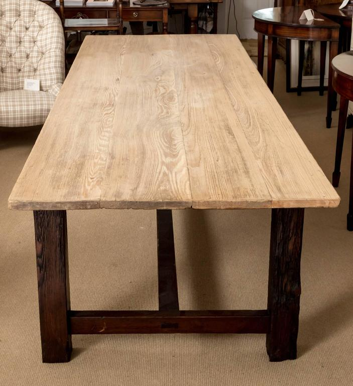 19th Century Farmhouse Dining Table, England, circa 1850 4