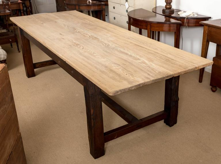 19th Century Farmhouse Dining Table, England, circa 1850 6