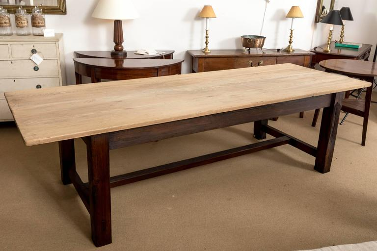 19th Century Farmhouse Dining Table, England, circa 1850 9