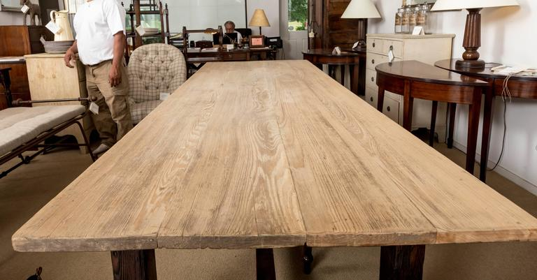 19th Century Farmhouse Dining Table, England, circa 1850 10