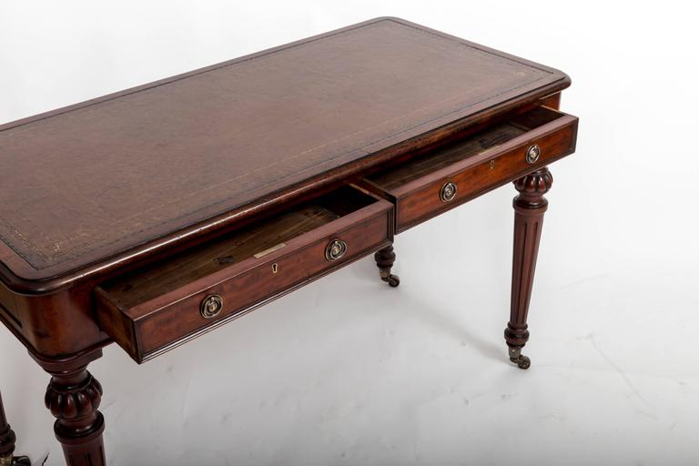 Early 19th Century, Mahogany Writing Table, England, circa 1890 6
