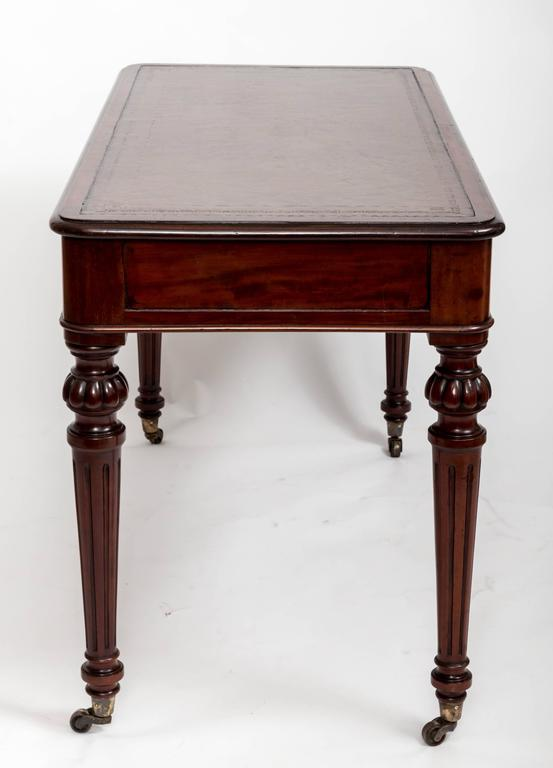 Early 19th Century, Mahogany Writing Table, England, circa 1890 7