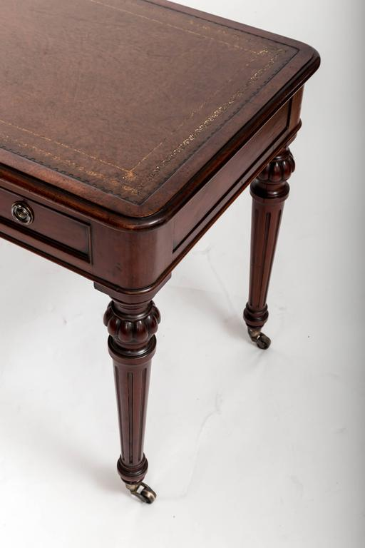 Early 19th Century, Mahogany Writing Table, England, circa 1890 8