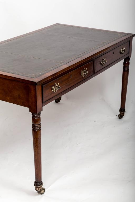 Early 19th Century William IV Mahogany Writing Table, England, circa 1830 5