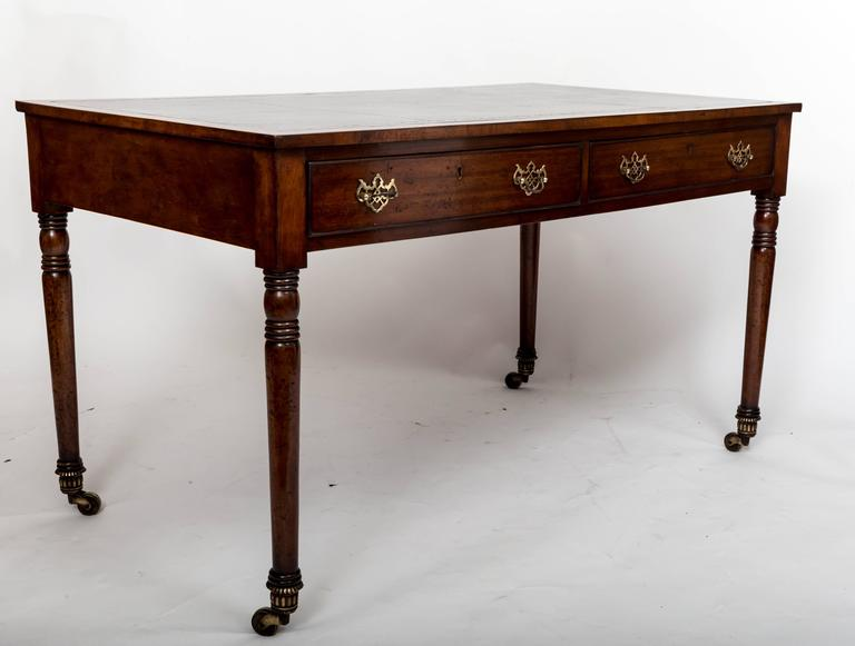 Early 19th Century William IV Mahogany Writing Table, England, circa 1830 6