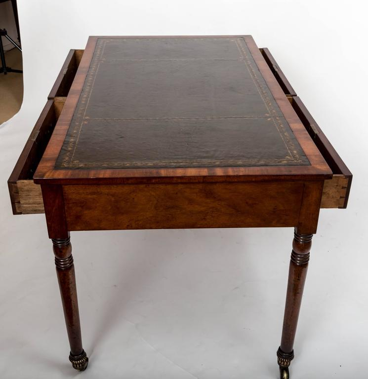 Early 19th Century William IV Mahogany Writing Table, England, circa 1830 7