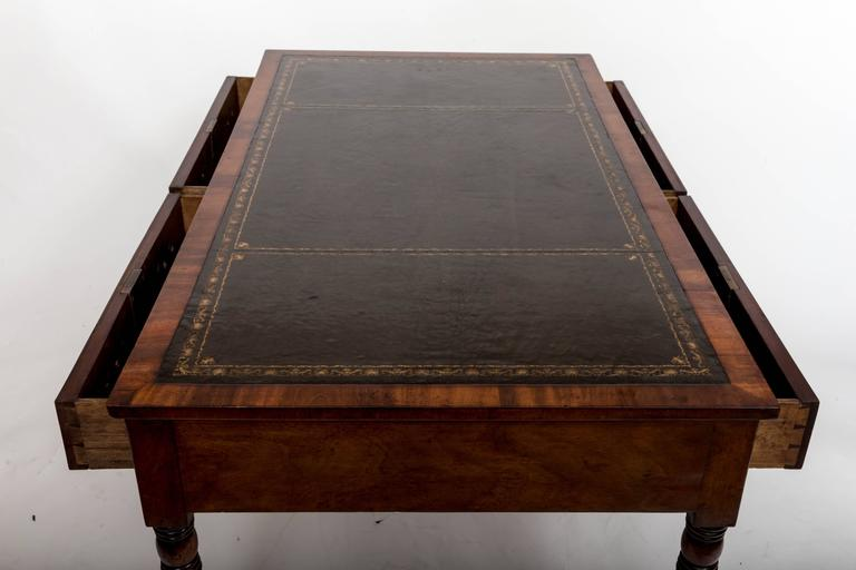 Early 19th Century William IV Mahogany Writing Table, England, circa 1830 8