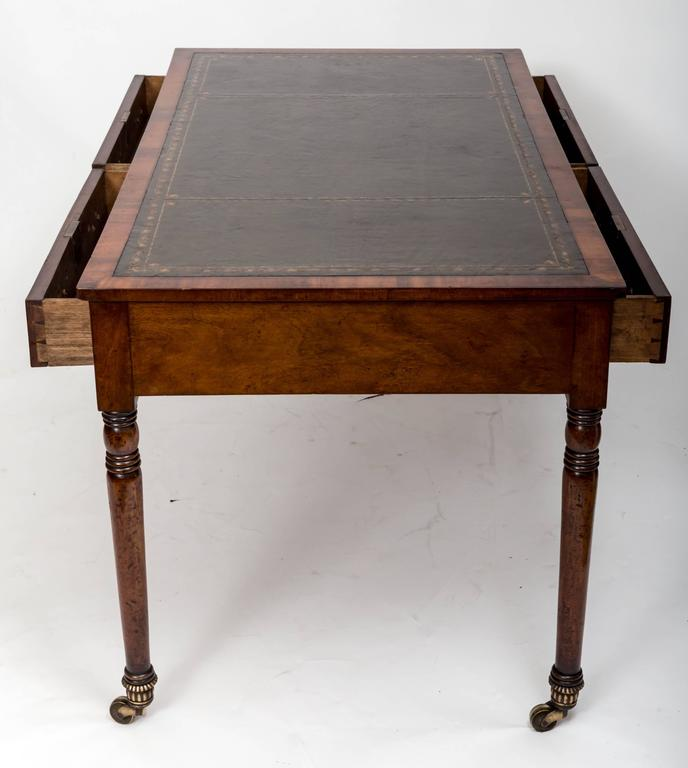 Early 19th Century William IV Mahogany Writing Table, England, circa 1830 9