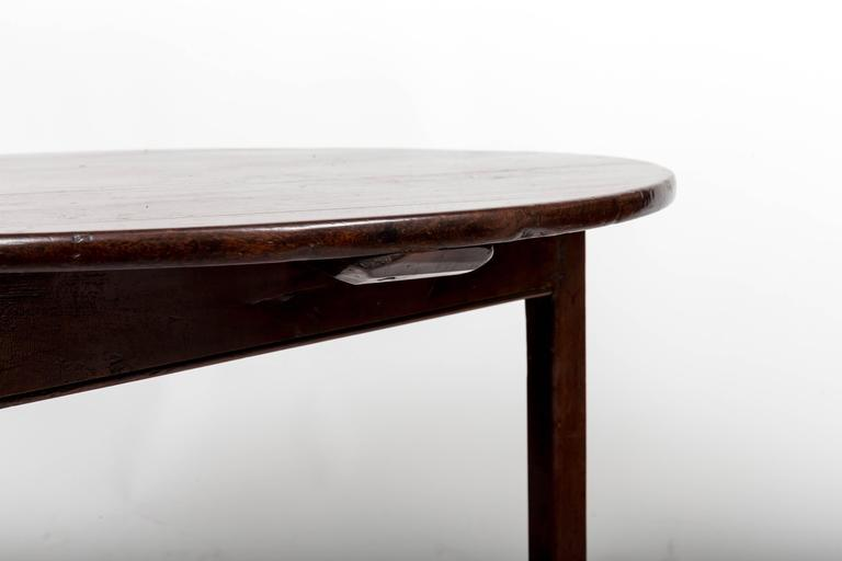 18th Century Mahogany Cricket Table, England, circa 1780 For Sale 4
