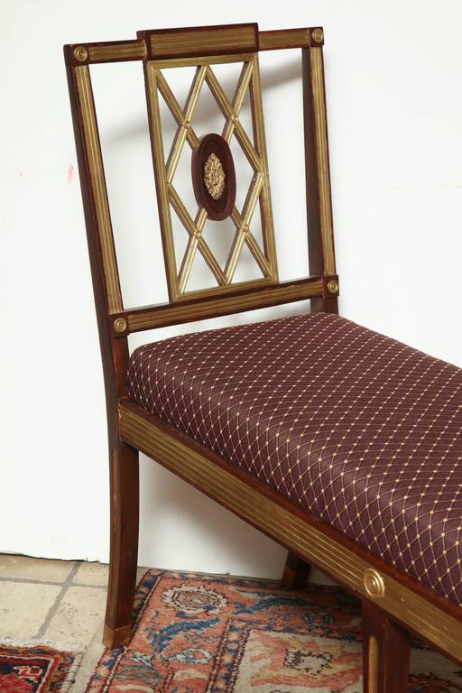 Neoclassical Pair of Russian Neoclassic Benches For Sale