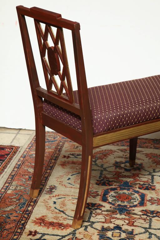 Pair of Russian Neoclassic Benches For Sale 3