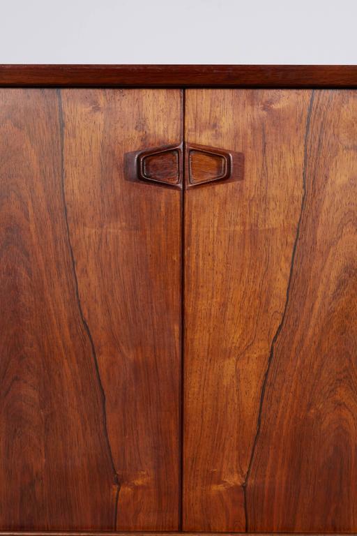 Large Rosewood Sideboard by Rosengren Hansen 4