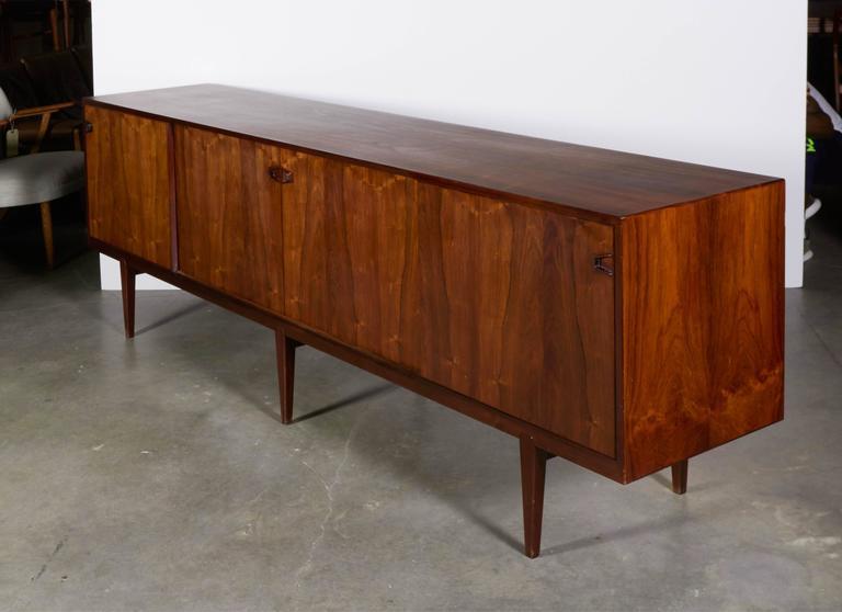 Large Rosewood Sideboard by Rosengren Hansen 8
