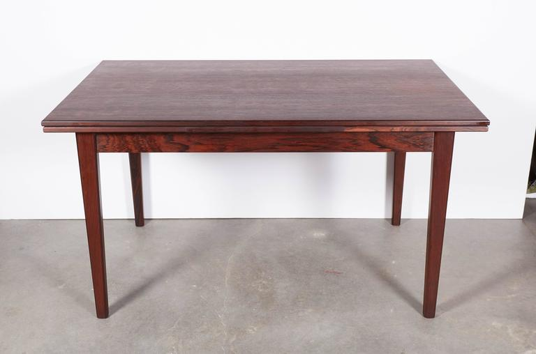 Rosewood Dining Table, Expandable by Sejling Skabe 2
