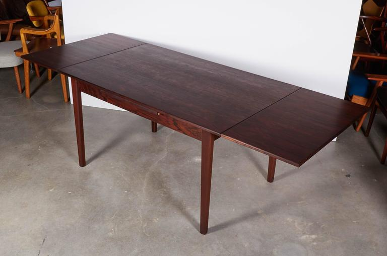 Rosewood Dining Table, Expandable by Sejling Skabe 5
