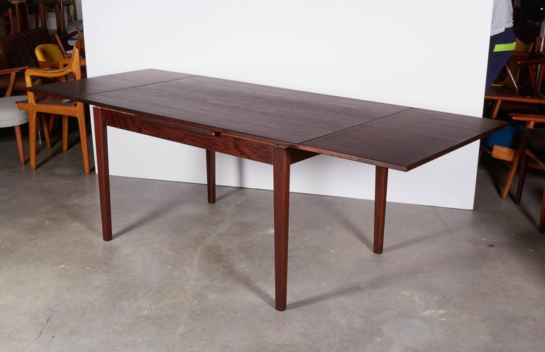 Rosewood Dining Table, Expandable by Sejling Skabe 6