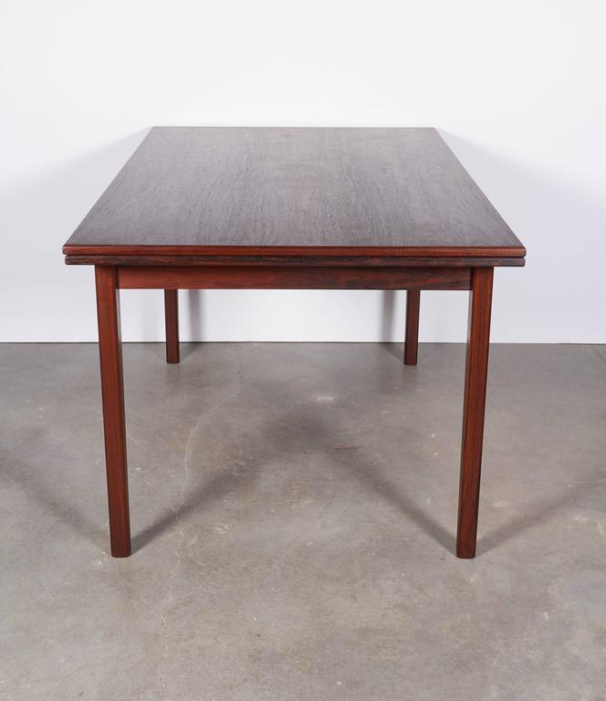 Rosewood Dining Table, Expandable by Sejling Skabe 7