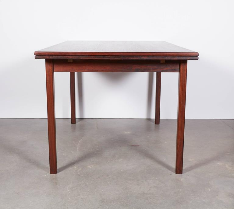 Rosewood Dining Table, Expandable by Sejling Skabe 8