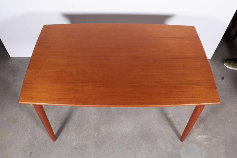 Danish Modern Dining Table, Expandable 4