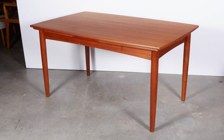 Danish Modern Dining Table, Expandable 5