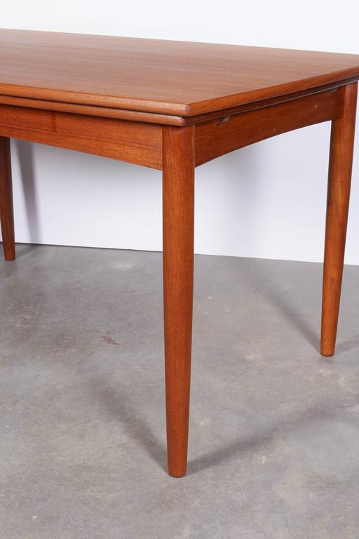 Danish Modern Dining Table, Expandable 6
