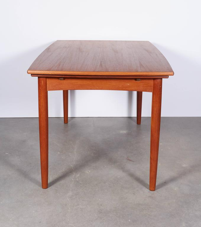 Danish Modern Dining Table, Expandable 7