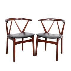 Rosewood Dining Chairs by Henning Kjaernulf, Set of 4
