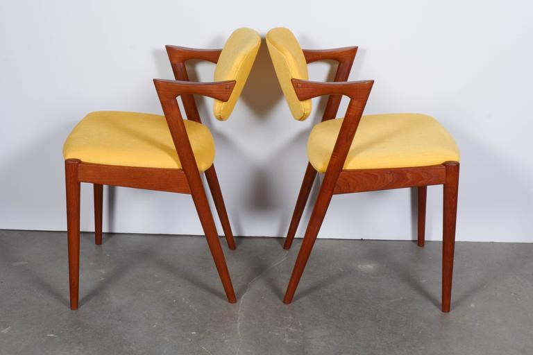 Kai Kristiansen No. 42 Dining Chairs, Set of Six 3