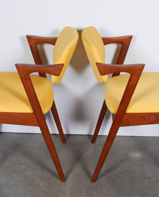 Kai Kristiansen No. 42 Dining Chairs, Set of Six 4