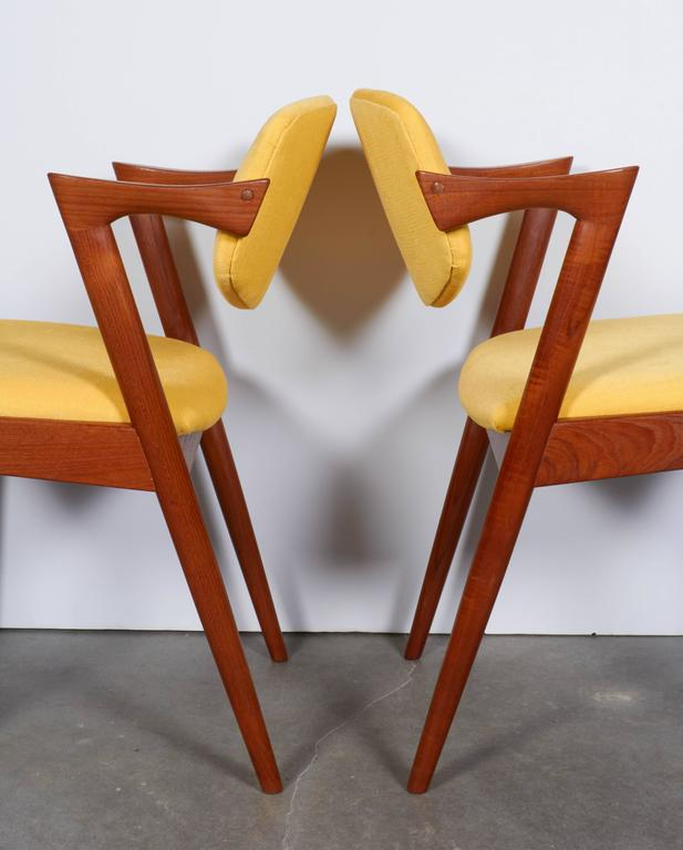 Kai Kristiansen No. 42 Dining Chairs, Set of Six 5