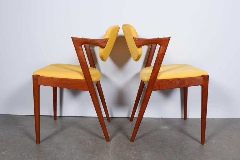 Kai Kristiansen No. 42 Dining Chairs, Set of Six 6