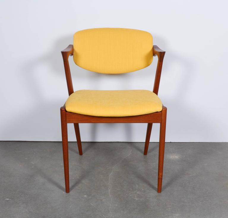 Kai Kristiansen No. 42 Dining Chairs, Set of Six 7